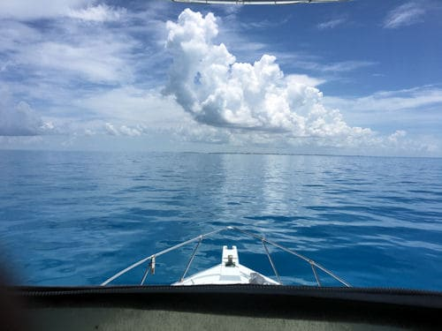 Headed back to Key West on a beautiful day