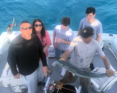 Barracuda Caught and released in Key West fishng on charter boat Southbound