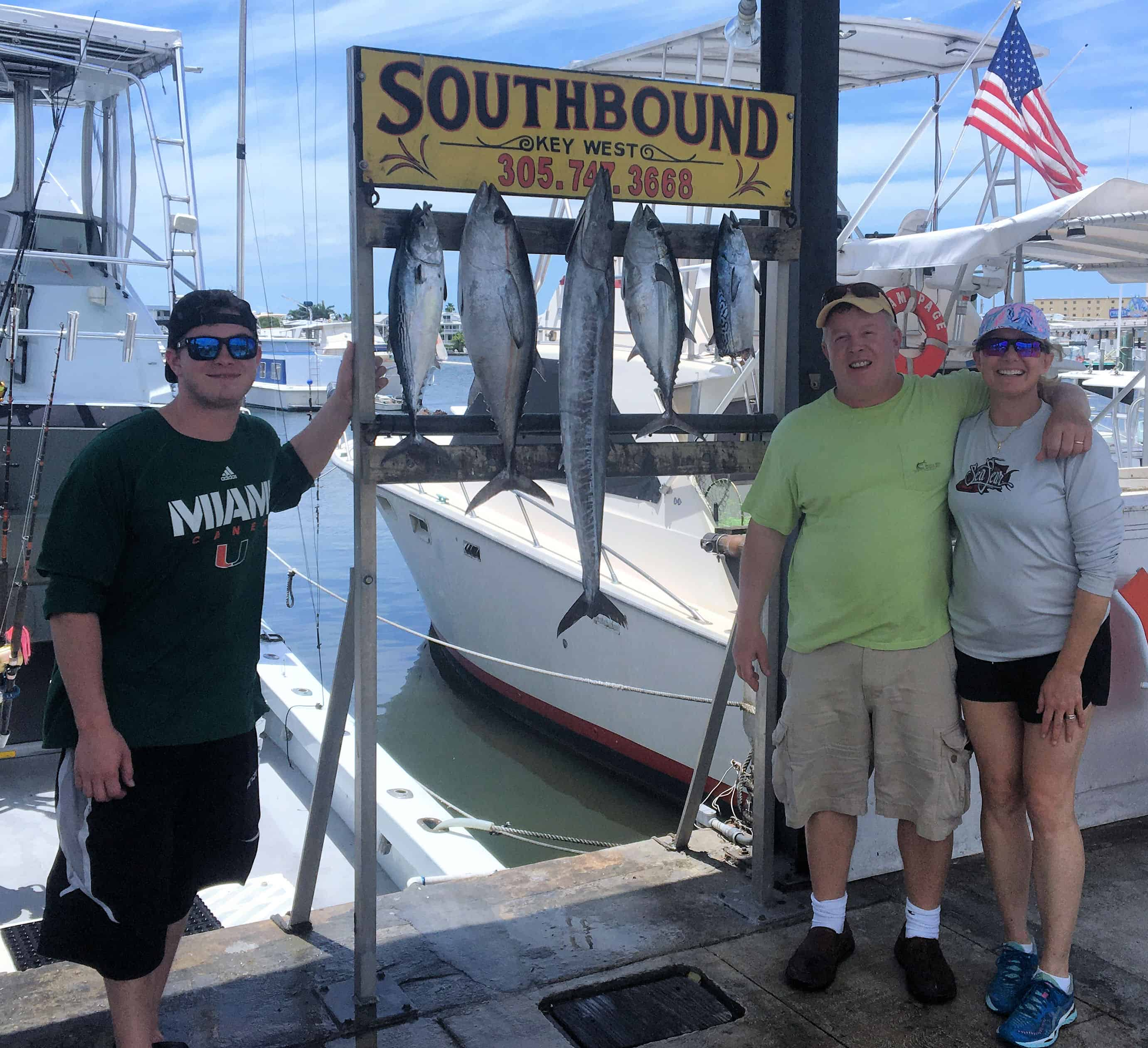 Fish caught on May 3, 2020 on the Charter Boat Southbound from Key West, Florida